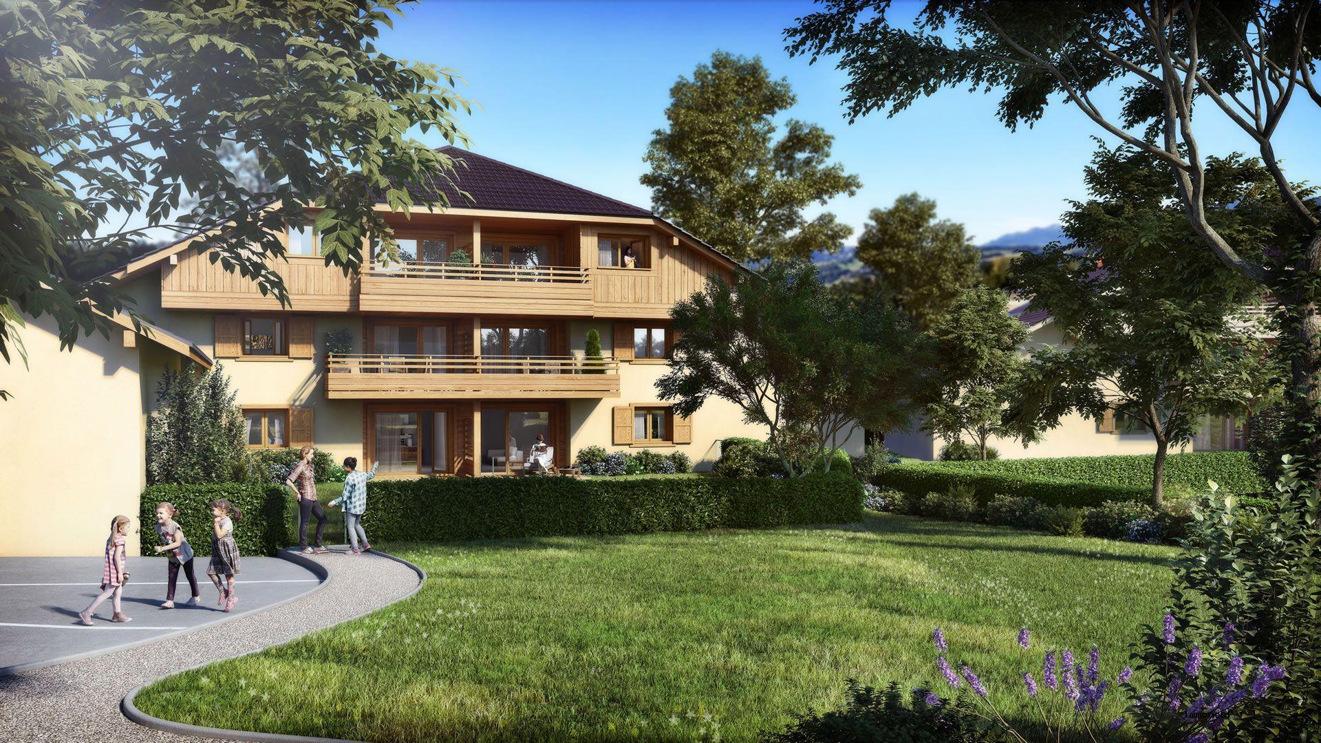 Annonce vente appartement cornier 74800 63 m 229 000 for Annonce vente appartement